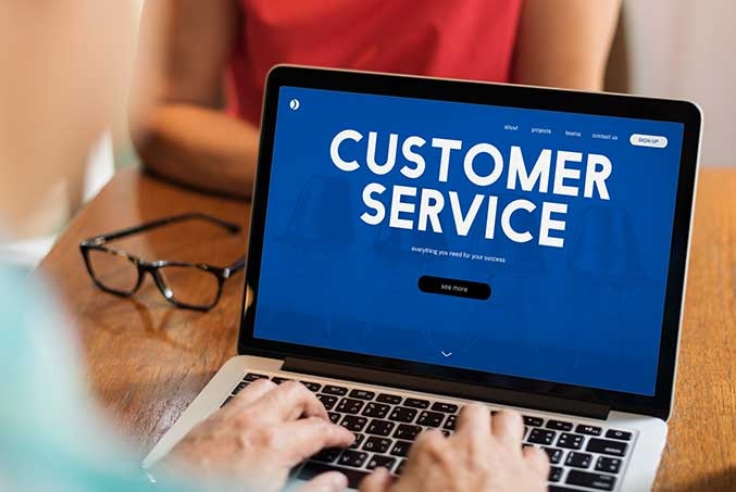 good cutomer service ensure better retaintion rate for your business