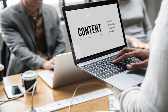 What content would you like to have on your website?