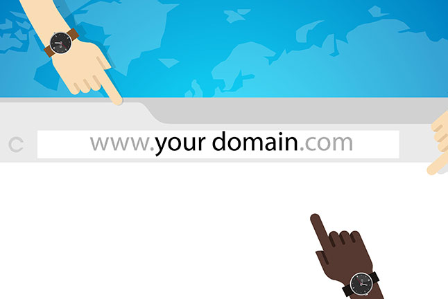 Create and register your domain name