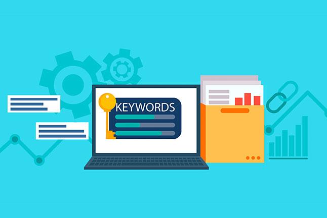 Use keywords on meta description
