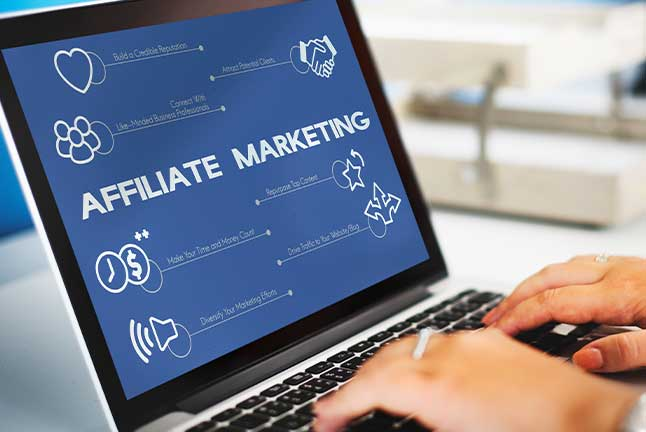 Proceed to affiliate marketing
